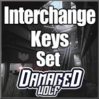 Interchange Keys Set (All 14 Keys) + Free Small S I C C case   Instant Delivery