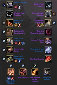 HUNTER LEVEL 70 GEARED WHITEMANE ALLIANCE ,BIS GEAR, SUNFURY BOW OF THE PHOENIX, ALL ATUNE CLEAR, SERVER TRANSFERABLE