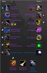 MAGE FROST GNOME GEARED LEVEL 70, WHITEMANE ALLIANCE, ALL ATUNE CLEAR, NATHREZIM MINDBLADE, EYE MAGTERIDON, FULL BIS GEAR, SERVER TRANSFERABLE