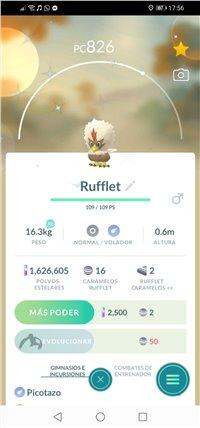 Cheap Shiny Rufflet for sale.