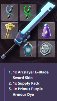 [DAUNTLESS] Sword Bundle + More! --- CODE FOR REWARD!