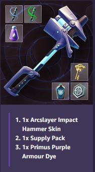[DAUNTLESS] Hammer Bundle + More! --- CODE FOR REWARD!