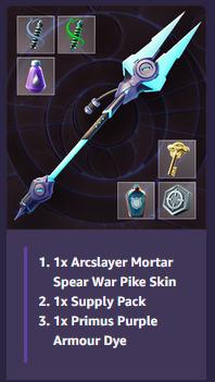 [DAUNTLESS] Spear Bundle + More! --- CODE FOR REWARD!