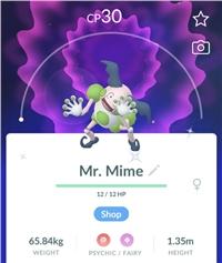 SHINY MR MIME - TRADE - Registered only [Regional Pokemon]