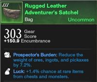 Rugged Leather Adventurer's Satchels / Bag