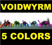 PC PVE NEW [5 COLORS TO CHOOSE FROM/ Click for details] Voidwyrm Clone