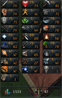 Runescape Ironman and OSRS Main