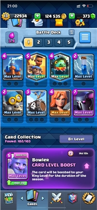 BIG DISCOUNT // CHEAP AND SUPER STRONG LEVEL 13 ACCOUNT // 24 CARDS MAXED  // 2 LEGENDARY MAXED // 373 GEM // SUPPERCELL ID CONNECT